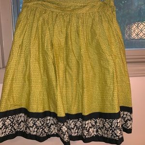 Anthropology Odille size 6 skirt